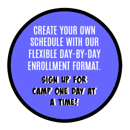 Sign up for summer camp one day at a time logo
